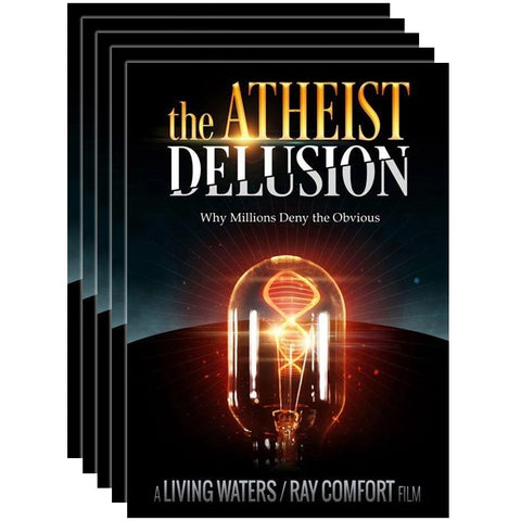 The Atheist Delusion - 5 Pack - DVD