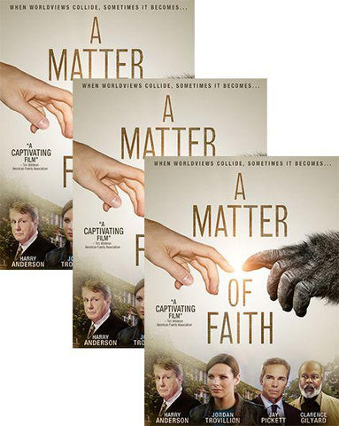 a matter of faith movie dvd 3 pack