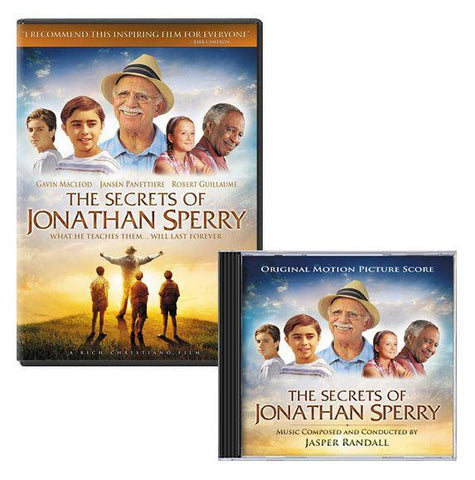 jonathan sperry movie soundtrack dvd cd pack