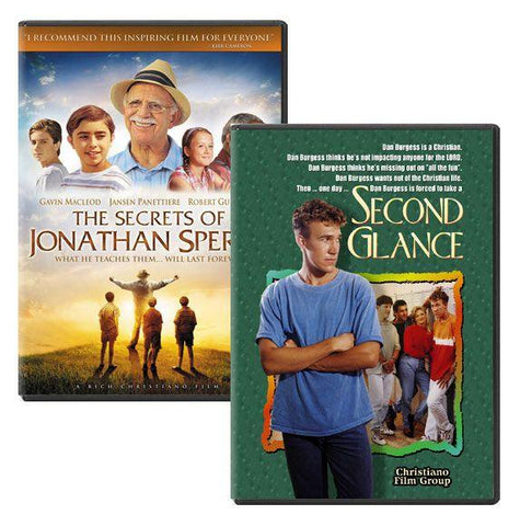 jonathan sperry second glance movie dvd pack