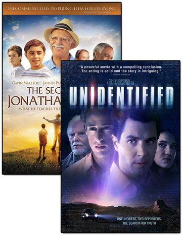 jonathan sperry unidentified movie dvd pack