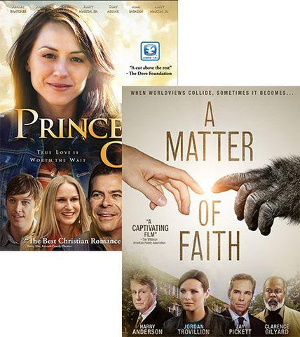 princess cut matter faith movie dvd pack