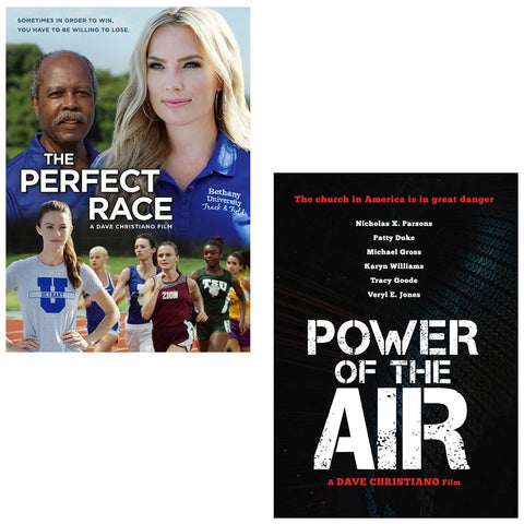 The Perfect Race & Power of the Air - DVD 2 pack