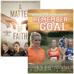 remember the goal matter faith movie dvd 2 pack