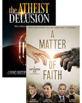 the atheist delusion documentary matter faith movie dvd pack