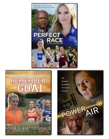 The Perfect Race & Power of the Air & Remember the Goal - DVD 3 Pack
