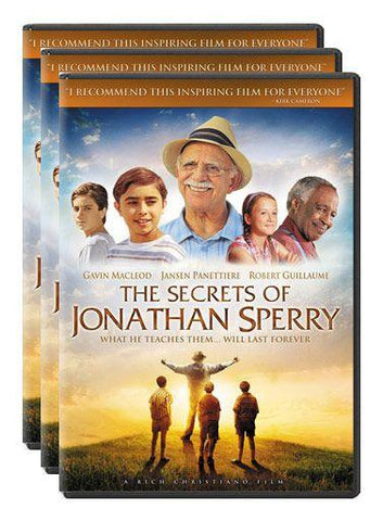 the secrets of jonathan sperry movie dvd 3 pack