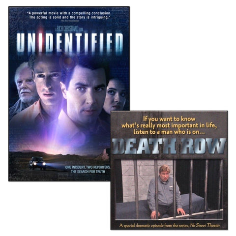 unidentified death row twin movie dvd pack