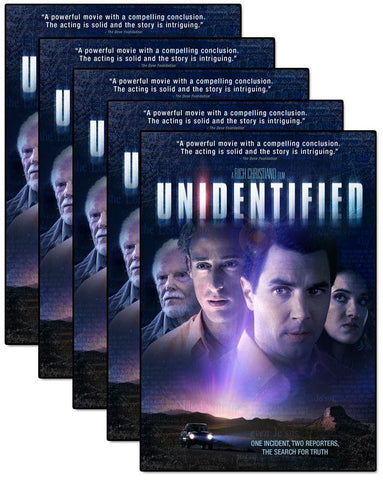 unidentified movie dvd 5 pack