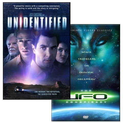 unidentified the ufo conspiracy movie dvd pack