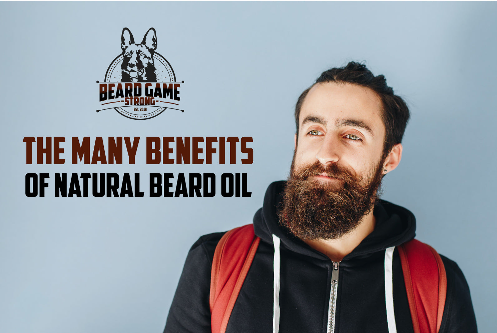 The Many Benefits of Natural Beard Oil