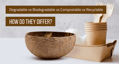 Degradable vs Biodegradable vs Compostable vs Recyclable: How Do They Differ? (Updated 2020)