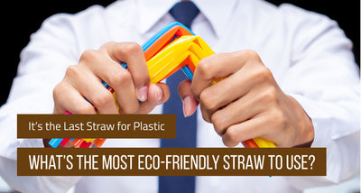 It's the Last Straw for Plastic: So What's the Most Eco-Friendly Straw to Use?