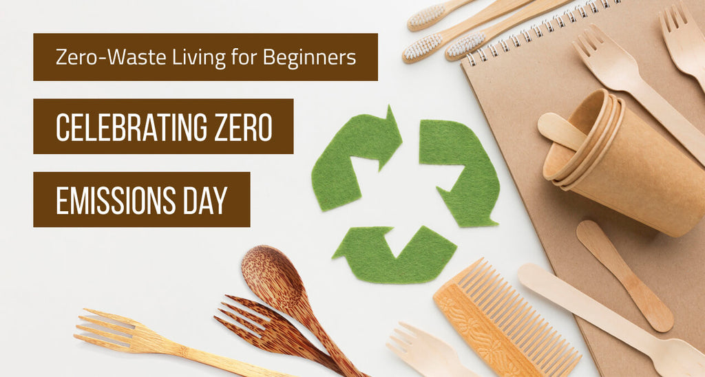 Zero-Waste Living for Beginners: Celebrating Zero Emissions Day (Updated 2020)