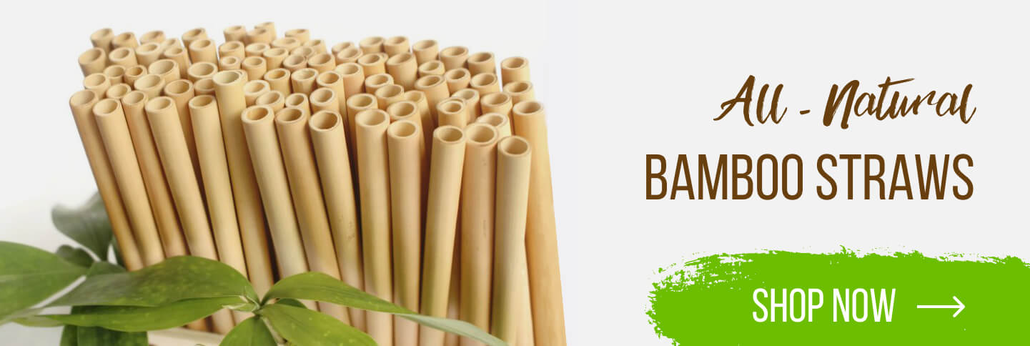 All-natural Bamboo Straws