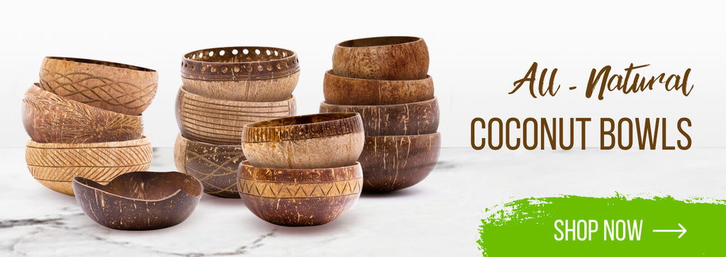 All-natural Coconut Bowls