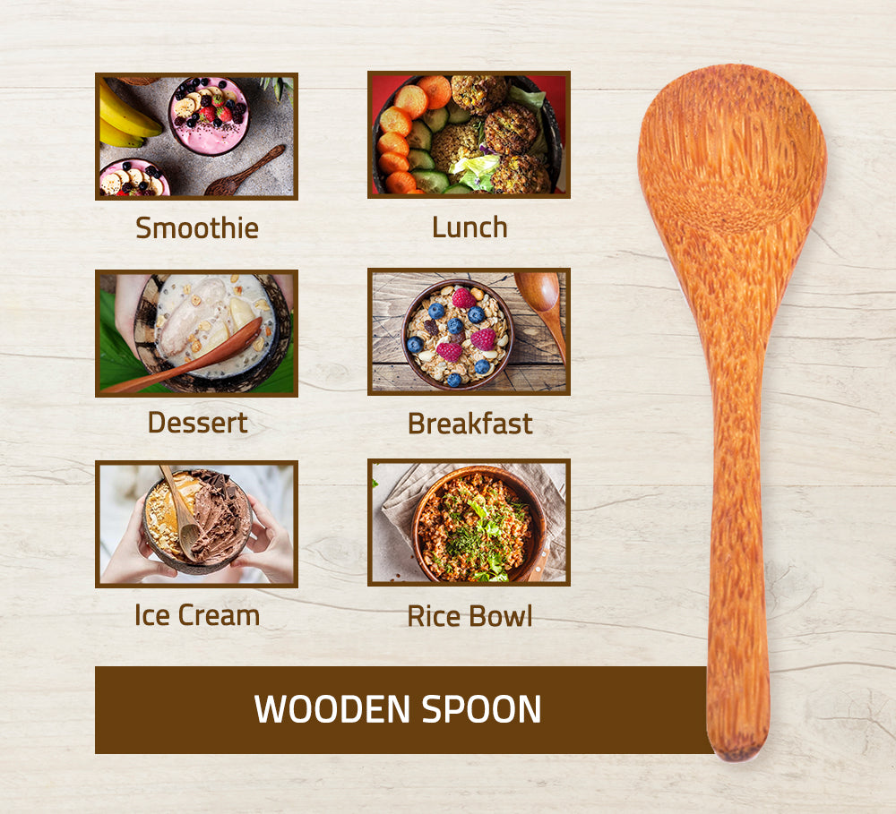 Coconut Wooden Spoons