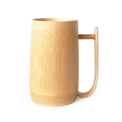 Tall Bamboo Beer Stein