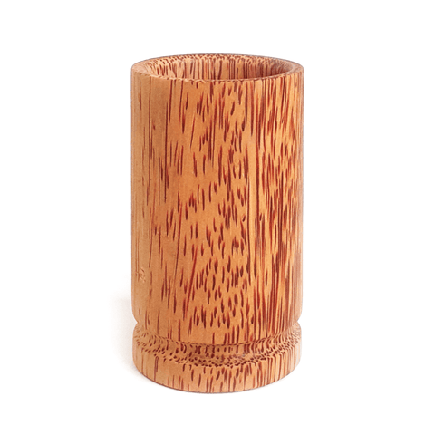 Coconut Wood Utensils Holder