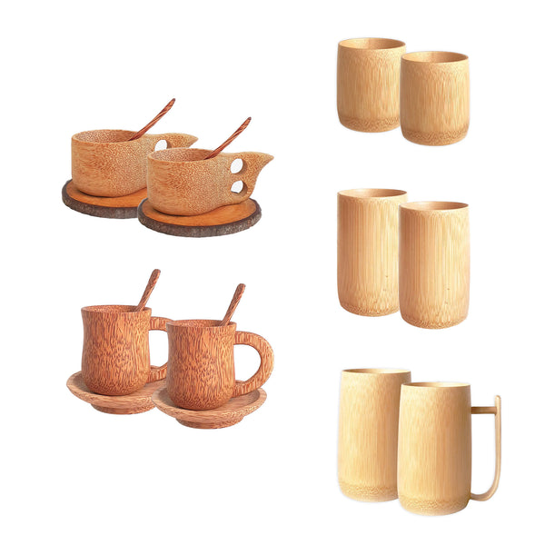 Eco-Drinkware Set