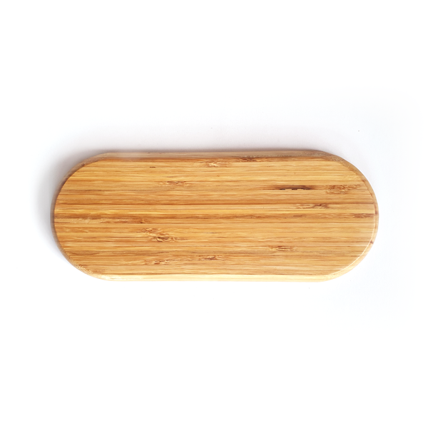 Ellipse Bamboo Plate