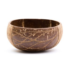 Waves Coconut Bowl | Rainforest Bowl