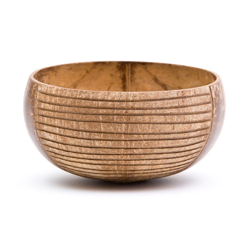Stripes Coconut Bowl | Rainforest Bowls