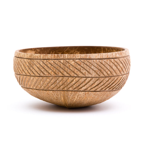 Feather Coconut Bowl | Rainforest Bowls