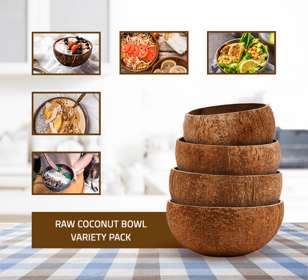 Raw Coconut Bowl Variety Pack