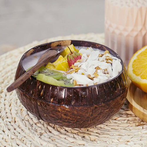 Two-Toned Coconut Bowl