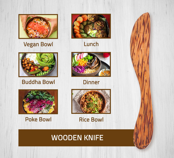 Coconut Wood Butter Knife