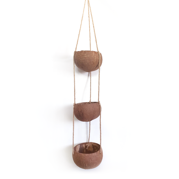 Hanging Coconut Planter (3-Tier)