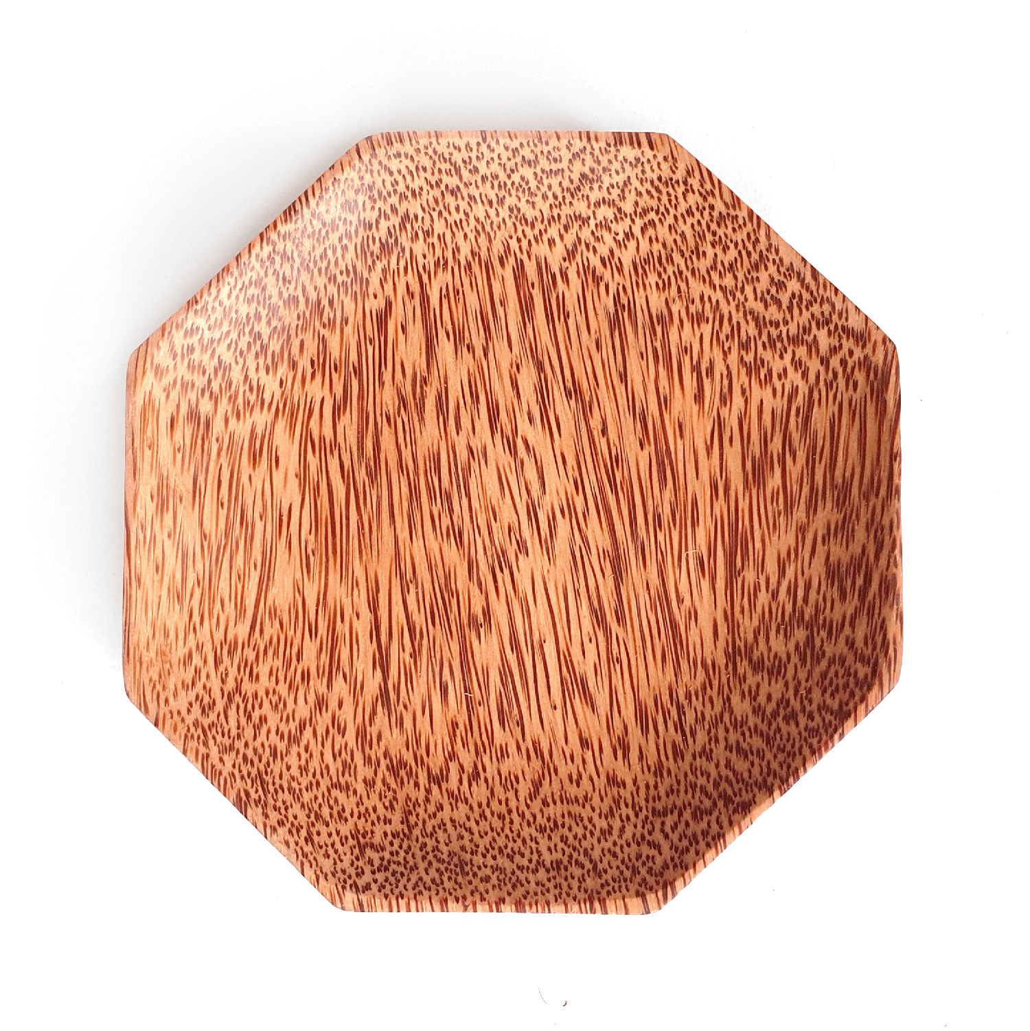 Polygon Coconut Wood Plate
