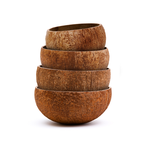 Raw Coconut Bowl Variety Pack (Full sizes) | Rainforest Bowls