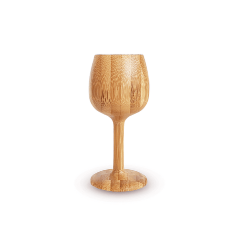Medium Bamboo Wine Glass
