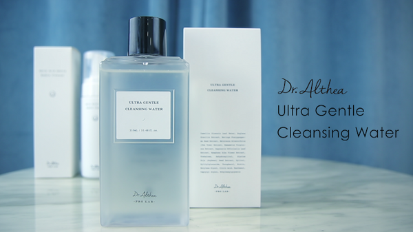 How to use Dr.Althea Ultra Gentle Cleansing Water