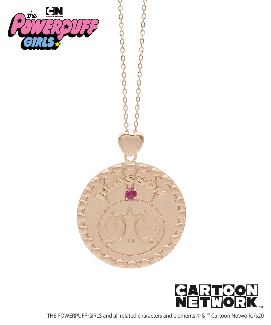 The POWERPUFF GIRLS CoinPendant Collection
