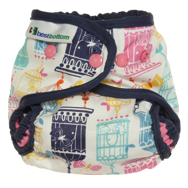 Sing into Spring with the Limited Edition Evolve Best Bottom Songbird Cotton Diaper, Sold at Simply Natural Baby Store™. #songbird #bestbottomdiaperssongbird #makeclothmainstream #bestbottomdiapers