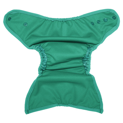 The Best Bottom Swim Diaper is your one-size solution for fun in the surf and sun. Another feature to love about the Best Bottom Swim Diaper is double gussets to help contain messes. Designed to contain solids and allow liquids to pass through, the Best Bottom Swim Diaper won't weigh your baby down. Traveling to the pool or beach and want to have baby ready? Lay a Best Bottom cloth diaper insert in the Best Bottom Swim Diaper. Simply remove the insert before swimming and you're ready for fun! Shop online...