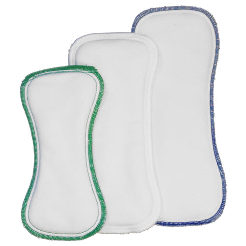 Stay Dry Insert consists of 4 layers of super thirsty microfiber topped with a super soft no-pill fleece pulling wetness away from baby's bottom keeping them feeling dry. Sold online at Simply Natural Baby Store™.