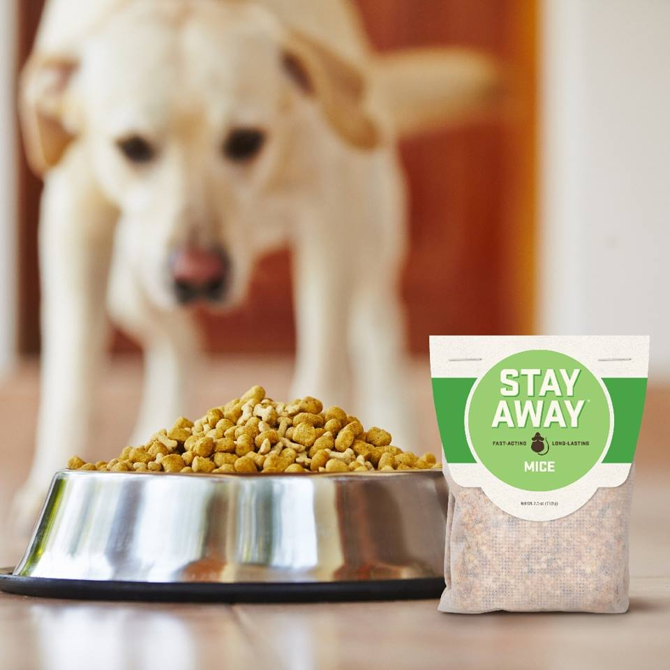Stay Away® Mice Repellent is a blend of plant fiber and botanical extracts that, while pleasant for you, will offend rodents. Safe for babies & pets.