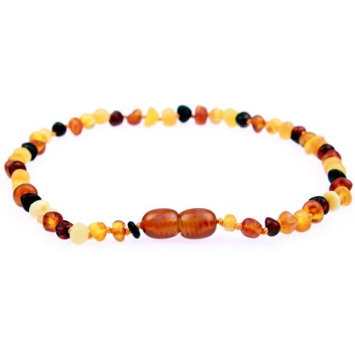 The Powell's Owls premium raw genuine Baltic amber teething necklaces are independently tested by the Gemological Institute of America for purity & authenticity. Sold online at Simply Natural Baby Store™.
