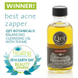 Earth Day Beauty Award Winner ~ Best Cleansing Oil This cleansing oil was selected as the 2014 Earth Day Beauty Award Winner in the acne zapping category! This cleansing oil is wonderful on skin which tends to be combination, active, prone to blemishes, or stressed with rashes and uneven coloration. Sold at Simply Natural Baby Store™.