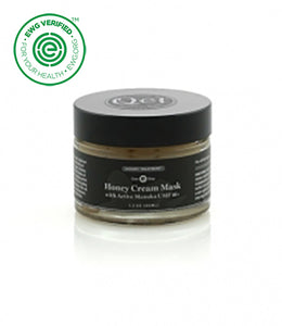Qēt Botanicals® Honey Cream Mask with Active Manuka is high level of antioxidants, antibacterial agents, anti-inflammatory benefits and Vitamins A and E. Sold at Simply Natural Baby Store™.