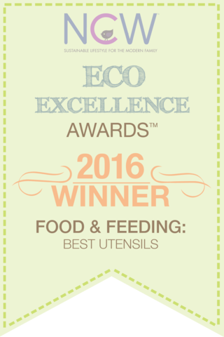 The Bambu® Feeding Spoons are Eco-Excellence Award winners. Sold at Simply Natural Baby Store™.