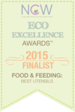 The Bambu® Baby's Training Spoon is recognized as an Eco-Excellence Award finalist by NCW's Mom Lab and Celebrity Judges. Sold at Simply Natural Baby Store™.