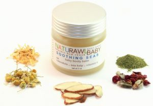 NATURAWL BABY | Soothing Seas Baby Booty Balm with Sea Kelp hand-crafted & hand- poured, vegan. Made with 100% pure therapeutic grade essential oils. Sold at Simply Natural Baby Store™.
