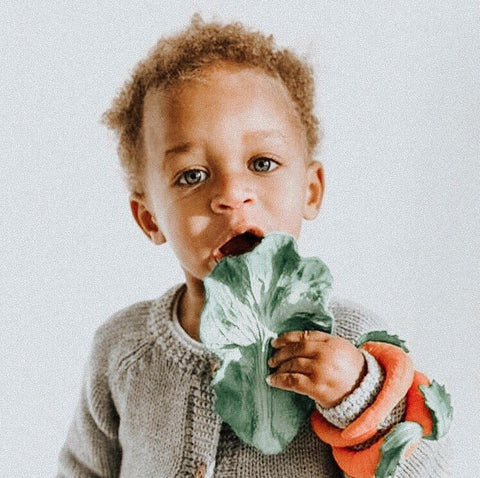 Oli & Carol Kendall the Kale Natural Rubber Toy