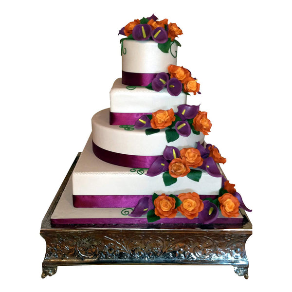 wedding cake stand ideas and wedding cake stand rentals