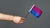 Hand holding out small Bisexual Pride flag | Nikki Darling Australia
